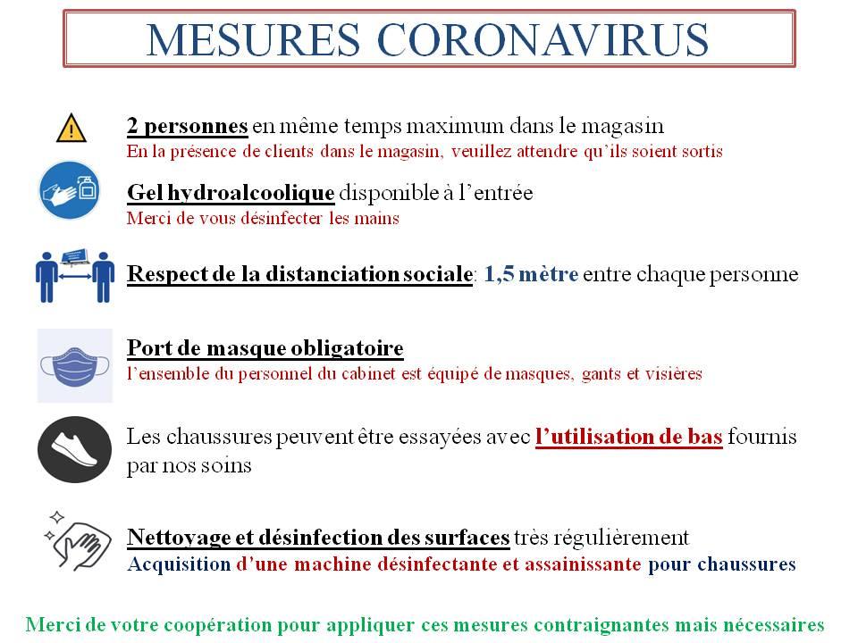 Mesures Coronavirus Raucoules Defouad